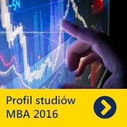 Profil studiów MBA 2016 - wyniki badania