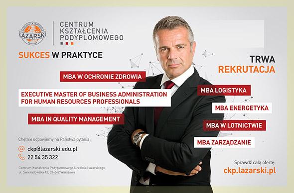 Studia MBA w Uczelni Łazarskiego